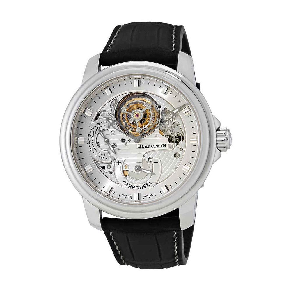 Blancpain Le Brassus Platinum One Minute Flying Carrousel Men s Watch 2253-4034-53B