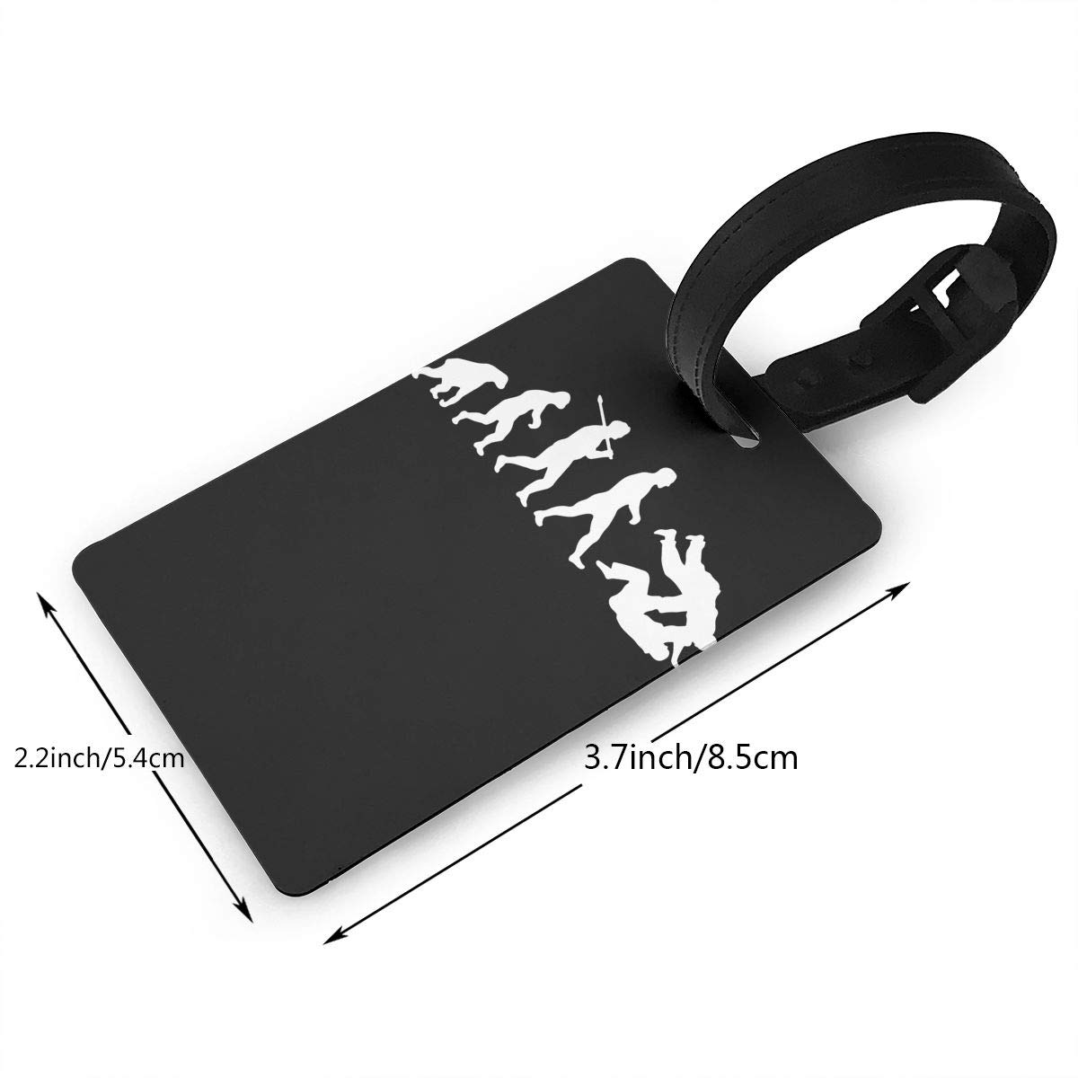 2 Pack Luggage Tags Evolution Judo Jiu Jitsu Travel Tags For Travel Bag Suitcase Accessories