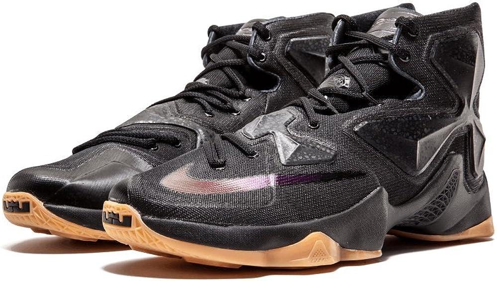 Nike Lebron XIII Black Loin Men's Shoes Black/Anthracite 807219-001