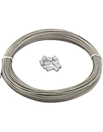 1.5 mm thickness Garage door lift cable rope wire galvanized 2000 mm