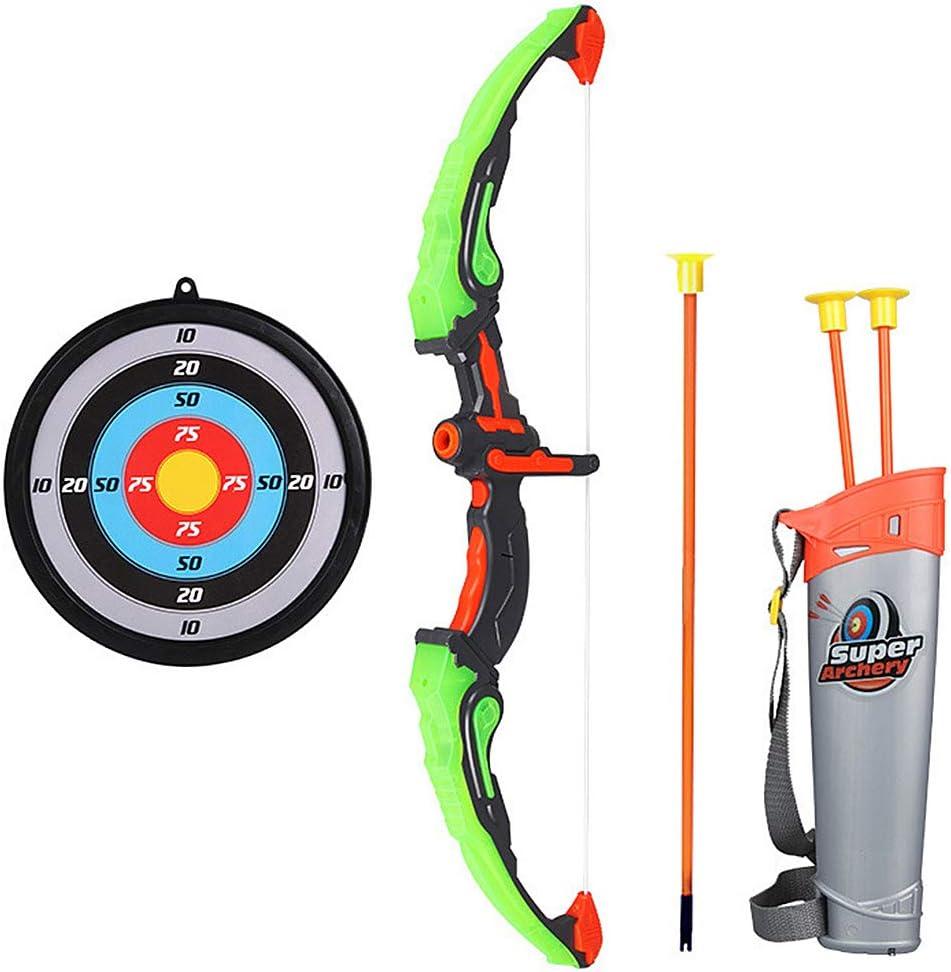 Roeam Arco Set niños Tiro con Arco Juegos con 3 Flechas de Tiro,Juego de Arco y Flecha para niños y niñas,Regalo para niños