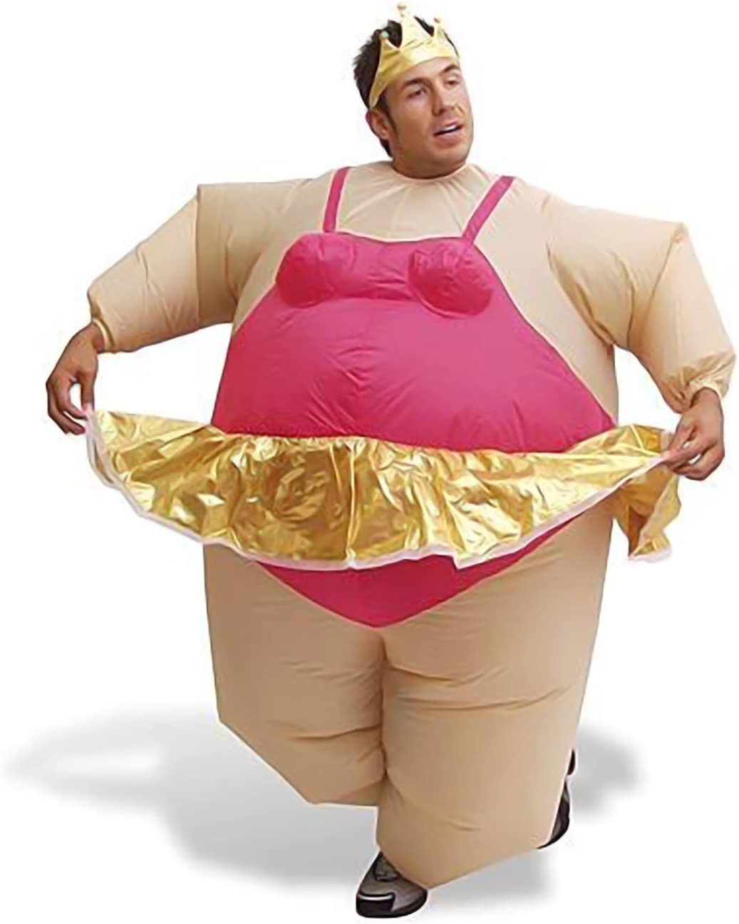 AirSuits Inflable Fatsuit Traje De La Bailarina Del Carnaval Disfraz Hinchable De Bailarina Para Carnaval