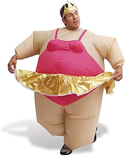 Safield - Disfraz hinchable de bailarina para carnaval.: Amazon.es ...