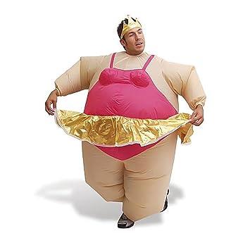 Safield - Disfraz hinchable de bailarina para carnaval.
