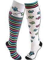 Sports Katz BUTTERFLY Socks (2 pair)