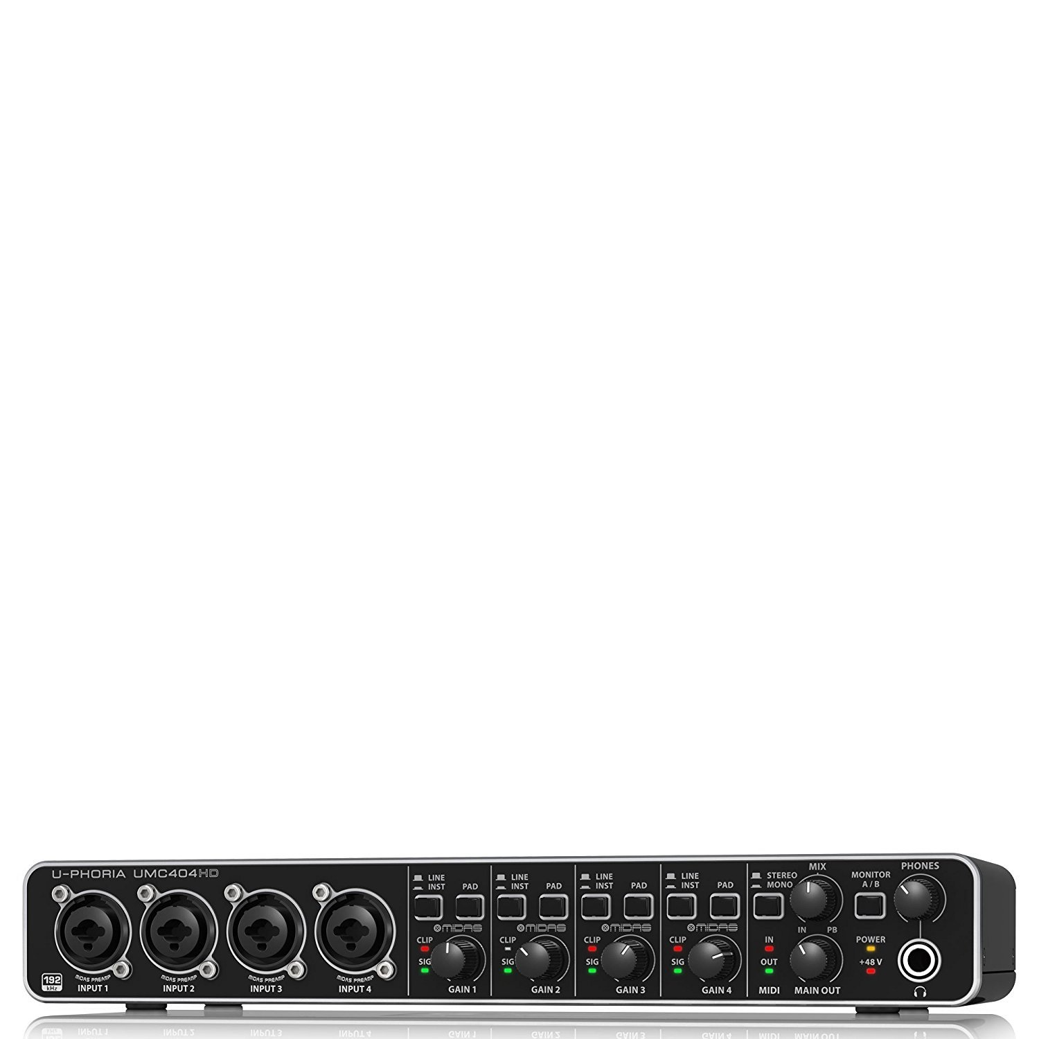 BEHRINGER Audio Interface 4-Channel UMC404HD Renewed