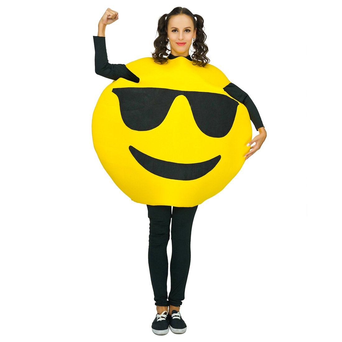 Adult Unisex Emoticon Costumes One Size (Sunglass) by Unknown