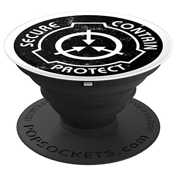 Amazon com: SCP Foundation Logo Phone Grip - PopSockets Grip and