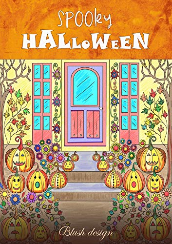 Coloring Page For Halloween (Spooky Halloween)