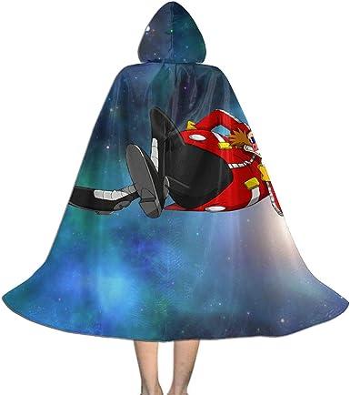 Amazon Com Sonic The Hedgehog Dr Ivo Robotnik Boys Girls Kids Halloween Costumes Cloak With Hood Clothing