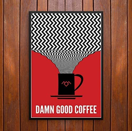 Twin Peaks, Damn Good Coffee! Poster or Framed Print