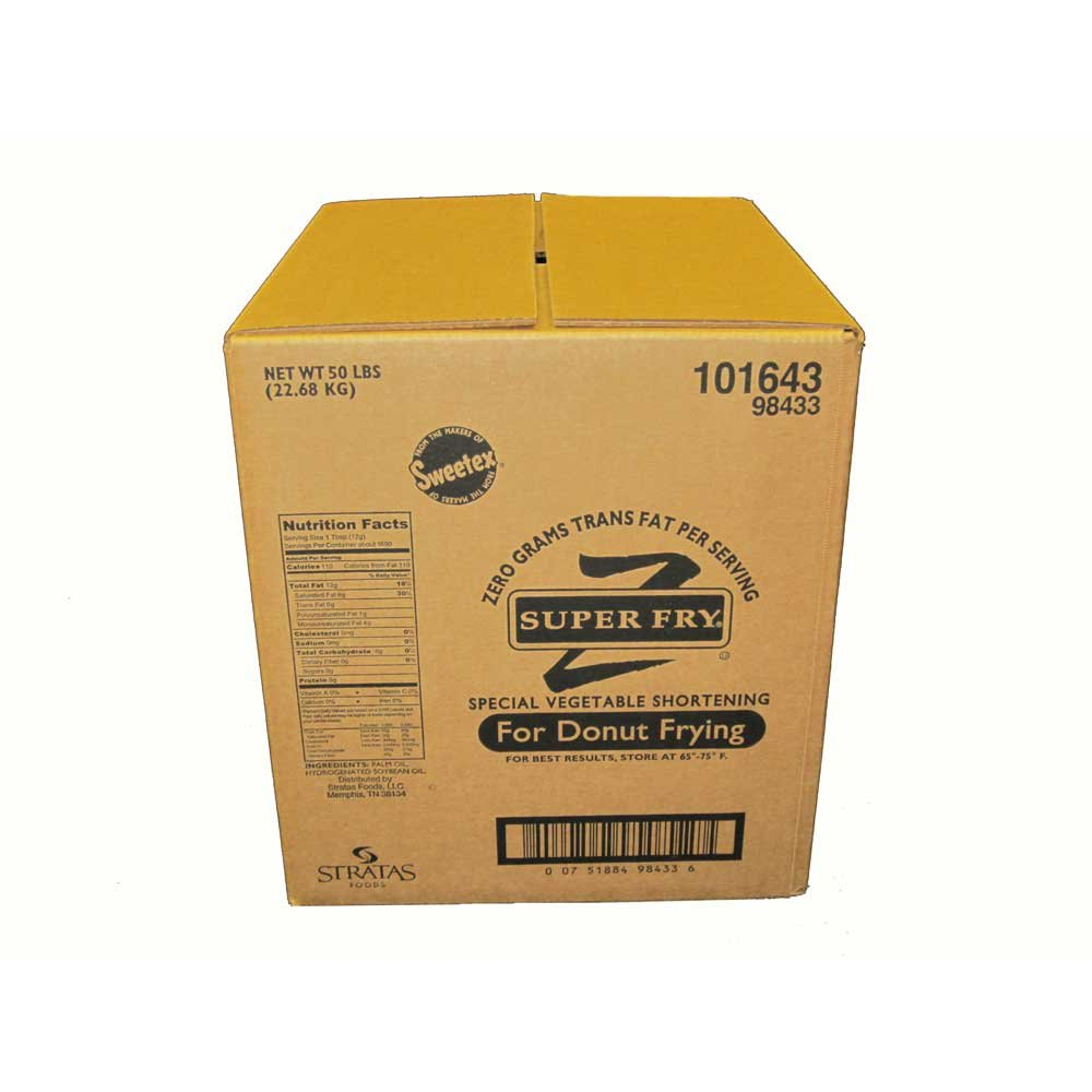 Stratas Foods Super Fry Zero Trans Fat Shortening, 50 Pound -- 1 each. by Stratas Foods