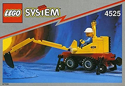 Lego System 4525 Road N' Rail Maintenance and Repair Set