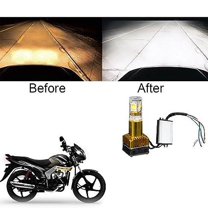 Vheelocityin 40watt Motorcycle Hid Bike Light For Mahindra Centuro