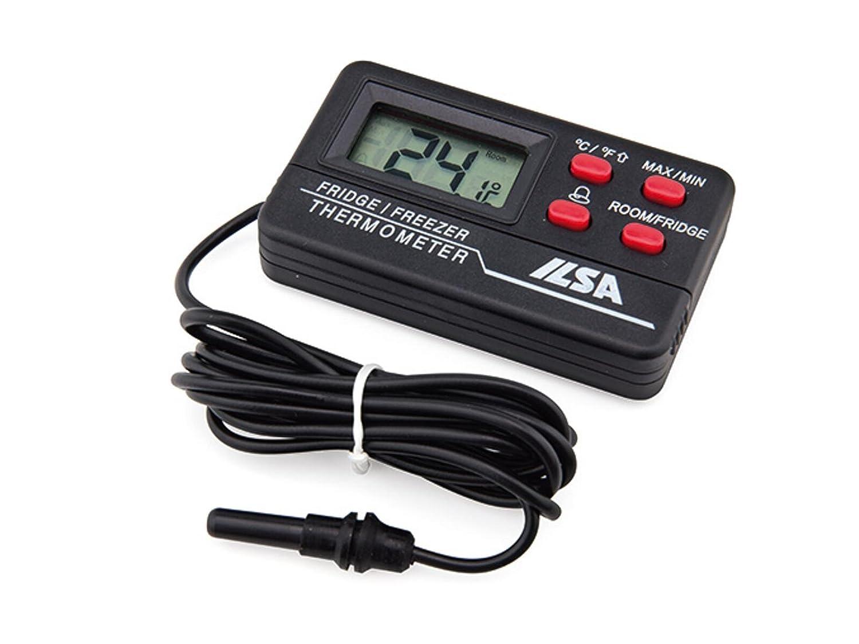 Ilsa Termómetro Digital Con Sonda Cable para frigorífico y ...