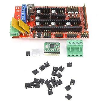Kit de impresora 3D, RAMPS 1.4 Panel de control + 5 Módulo de ...