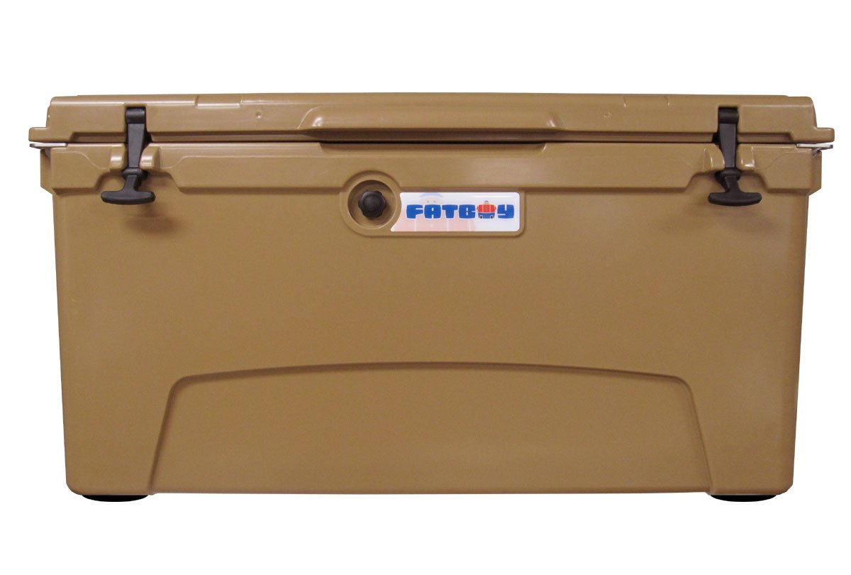 Fatboy 110QT Rotomolded Chest Ice Box Cooler Tan by Fatboy