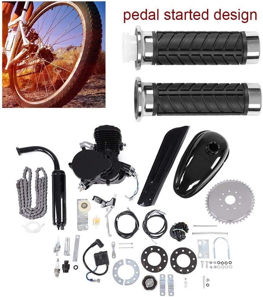 Kit de motor de bicicleta motorizado con pedal para motor de gasolina (80 cc, 2 tiempos): Amazon.es: Coche y moto