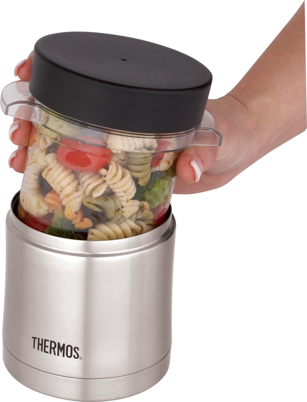 Amazoncom Thermos 12 Ounce Food Jar with Microwavable Container