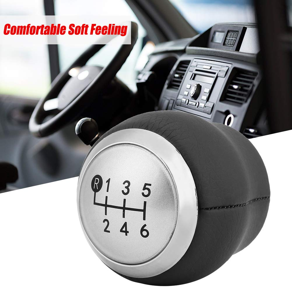 Gear Shift Knob Car 6 Speed Gear Shift Lever Knob Head for Corolla 1.8MT YARIS AURIS AYGO