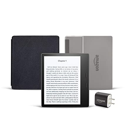 Amazon.com: All-new Kindle Oasis Essentials Bundle including ...