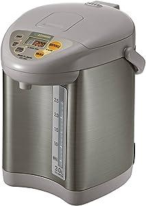 Zojirushi CD-JWC30HS Micom Water Boiler & Warmer, 3.0 L, Silver Gray