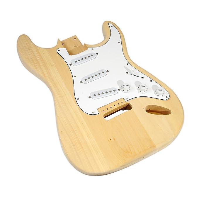 Amazon.com: PYLE-PRO Kit PGEKT18 inacabado de la guitarra eléctrica: Electronics