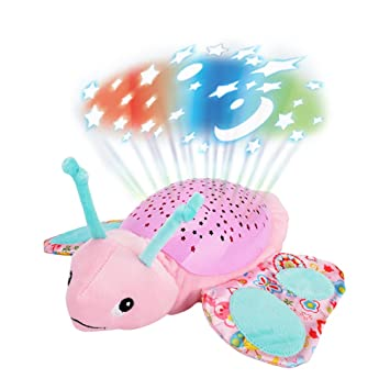 Amazon Com Samber Baby Luminous Plush Toy Projection Animal Doll