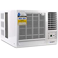 Devanti 1.6kW/2.6kW/4.1kW Window Wall Box Refrigerated Air Conditioner Conditioning Cooler 3-Speed Fan Remote Control Included
