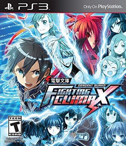 Dengeki Bunko: Fighting Climax - PlayStation 3 Standard Edition (Fighting Ps3 Games)