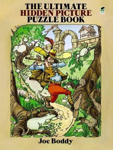 The Ultimate Hidden Picture Puzzle Book (Dover Children's Activity Books)