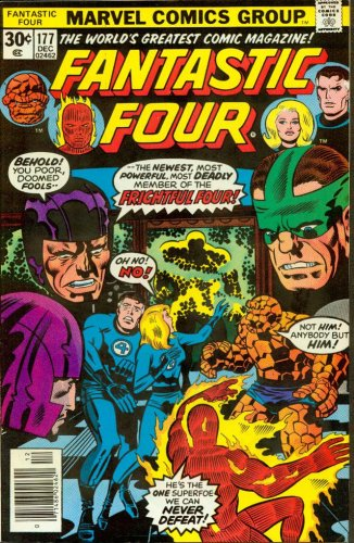 Fantastic Four #177 Look Out for the Frightful Four!
