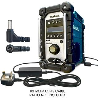 New Makita Genuine 12V Job Site Radio Adaptor Plug DAB BMR101 BMR104 Adapter
