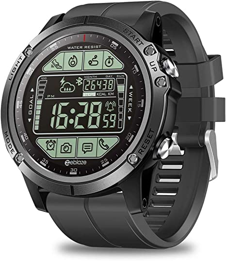 Amazon.com: Zeblaze Vibe 3S Sports Mens Smart Watch,Rugged ...