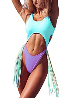 73d7067a5c0d9 ALLureLove Swimsuits Bathing Suits Women Sexy Monokini Cut Out Bikini One  Piece Cheeky Swimwear