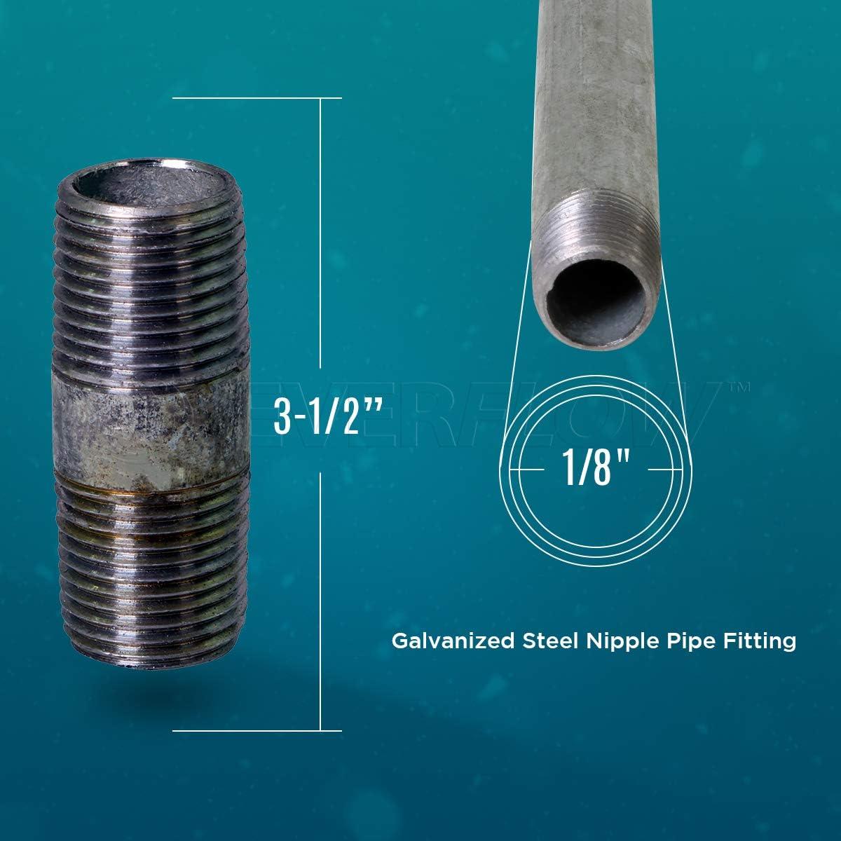 Pipe Nipple Galv 1//8x7