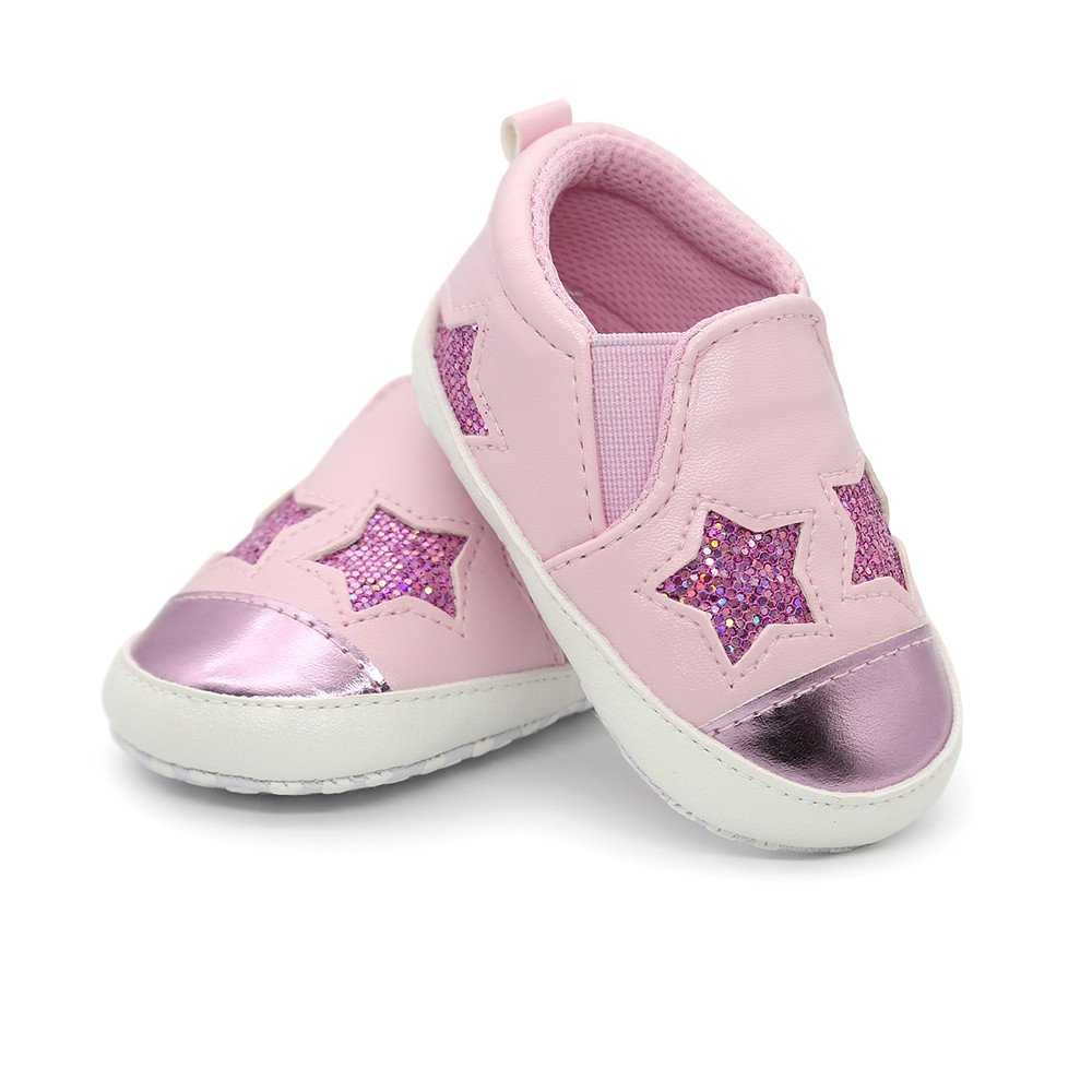 Newborn Girls Boys Shoes HEHEM Baby Girl Boys Five-Pointed Star Letter Shoes Sneaker Anti-Slip Shoes Toddler Shoes Infant Boots Baby Toddler Shoes: ...