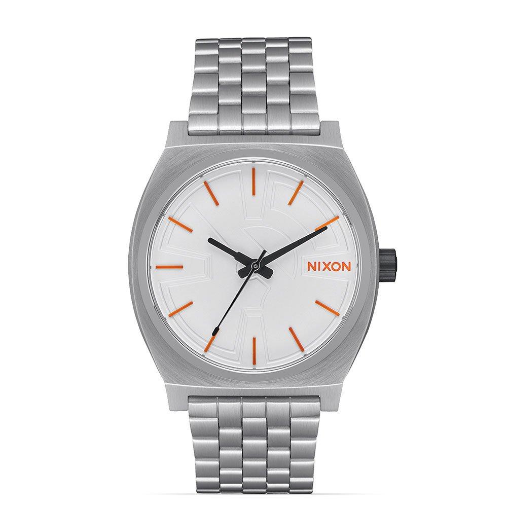 Nixon Unisex Time Teller - Star Wars Collection Bb-8 Silver/Orange Watch