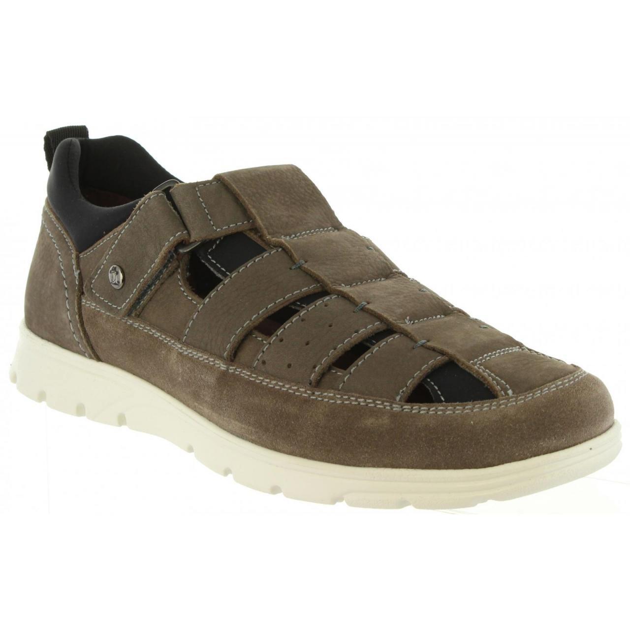 PANAMA JACK Sandalias de Hombre Donovan C4 Nobuck Gris: Amazon.es: Zapatos y complementos