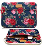 CoolBell(TM)17.3 Inch Laptop Sleeve Case Cover With Peony Flower Pattern Ultrabook Sleeve Bag For Ultrabook like Macbook Pro/Macbook Air/Acer/Asus/Dell/Lenovo/Women/Men