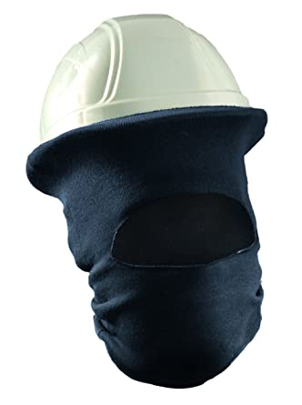 de418dfa4e7 OccuNomix Blue Modacrylic Rib-Knit Hot Rods Winter  Hardhats  Amazon.com   Industrial   Scientific