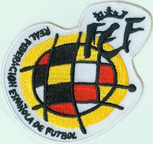 MAREL Parche FIFA Nacional de fútbol España Parche termoadhesivo Bordado CM CCA 9 réplica: Amazon.es: Hogar