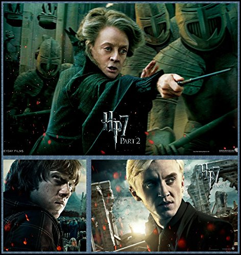 Harry Potter 7 Part 2 (24x25 inch, 60x64 cm) Silk Poster ...