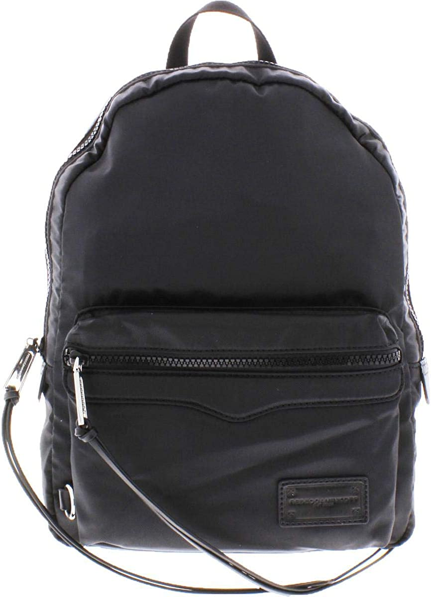 Rebecca Minkoff Womens Signature Nylon Backpack