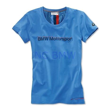 bb19385c361 Amazon.com  BMW Genuine Life Style Motorsport Ladies Fan Shirt Blue XL  Extra Large 80142285798  Automotive