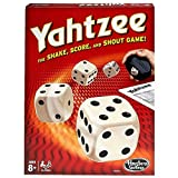 Yahtzee Classic Family Dice Game - Shake Score and Shout - Score Pad Board - Hasbro
