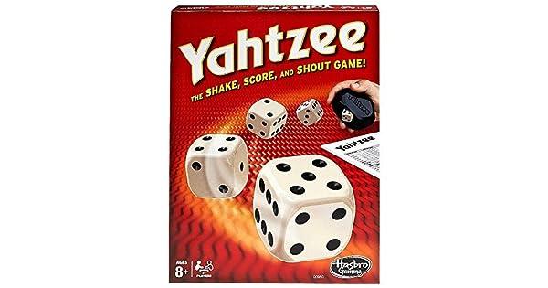 Amazon.com: Yahtzee Classic, Multicolor: Toys & Games