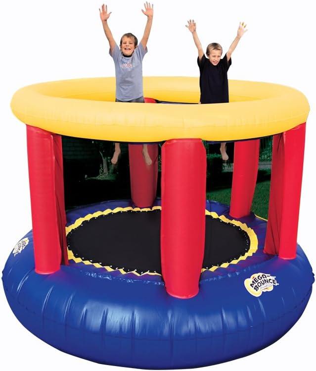 B0002D0FU0 BANZAI Mega Bounce Trampoline 61ovAaWI90L.SL1001_