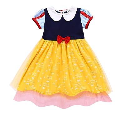 FONLAM Vestido Disfraz de Princesa para Niña Bebé Carnaval Vestido ...