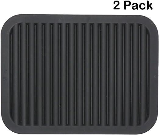Amazon.com: Lucky Plus - Salvamanteles de silicona para ...
